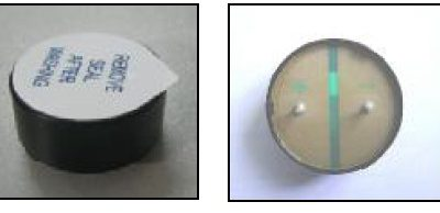 Round Speaker, Diameter 30mm, 0.8W, 16 Ohms