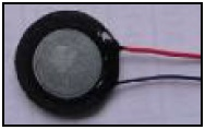 Round Mini Speaker, Diameter 16mm, 1.5W, 4 Ohms