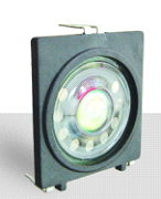 42.5mm X 39.6mm Square Speaker, 0.25W, 100 Ohms