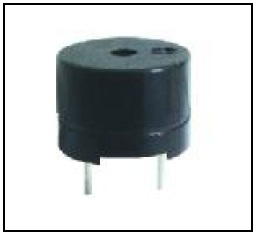 12mm, Electro-magnetic Buzzer, 1.5Vo-p, 10mA, 85dB, non-self drive