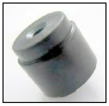 16mm, Electro-magnetic Buzzer, 6Vo-p, 40mA, 88dB, non-self drive