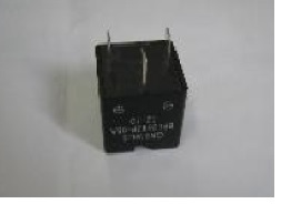 Square Junction Box Buzzer, Pulse Tone, Black, 26x12mm, Operates at 24VDC