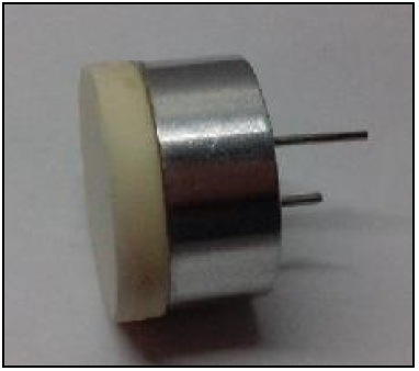 Water Proof Sensor, Center Frequency 200±10KHz, Diameter 19mm,SPL≥200(20cm/1.8Vrms)