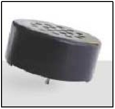 Round Speaker, Diameter 23mm, 0.15W, 100 Ohms