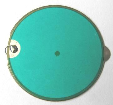 Piezo Element, dia. 31.8mm, Stainless Steel