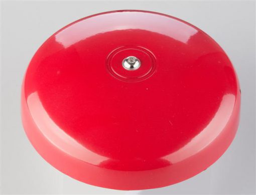 "Fire Bell, Diameter 6"" gong, Ringing Sound, 24VDC, 15mA, 90dB"