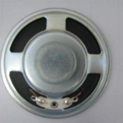 Round Speaker, Diameter 50mm, 0.25W, 25 Ohms