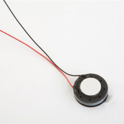 Round Mini Speaker, Diameter 14.9mm, 0.5W, 8 Ohms