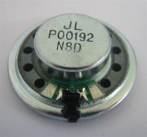 Round Speaker, Diameter 30mm, 0.5W, 4 Ohms