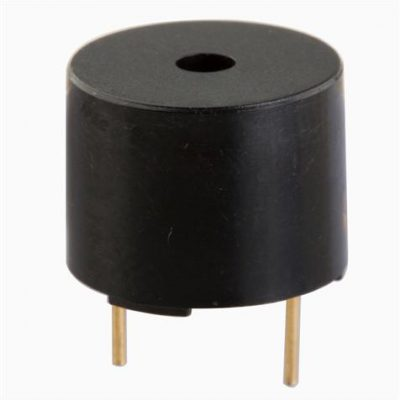 12mm Diameter Electro-magnetic Indicator, 12VDC, 30mA, 85dB, Self Drive
