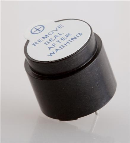 16mm, Electro-magnetic Buzzer, 12V, 40mA, 98dB, non-self drive