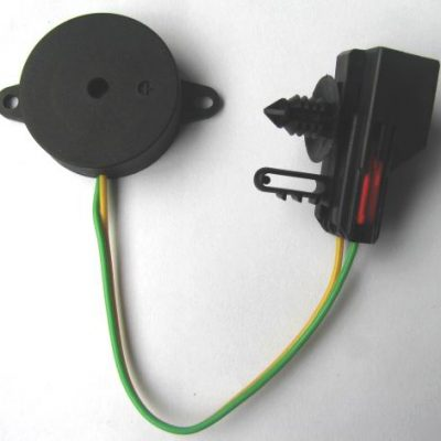 31mm Diameter Piezo Indicator, 9VDC, 85dB, 12mA, Self Drive