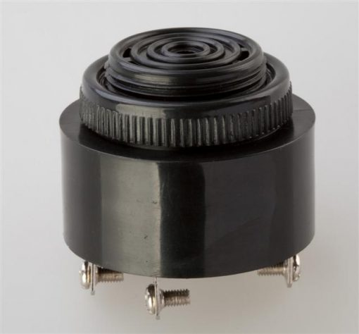 Panel Mount Buzzer, Diameter 43mm, With Constant or Fast Pulsing Tone