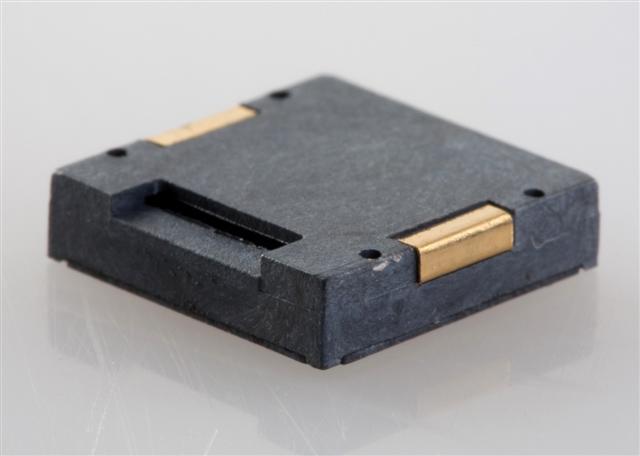 12x12 SMT Piezo Buzzer, 3Vp-p, 4KHz, 75dB, 1mA, non-self drive