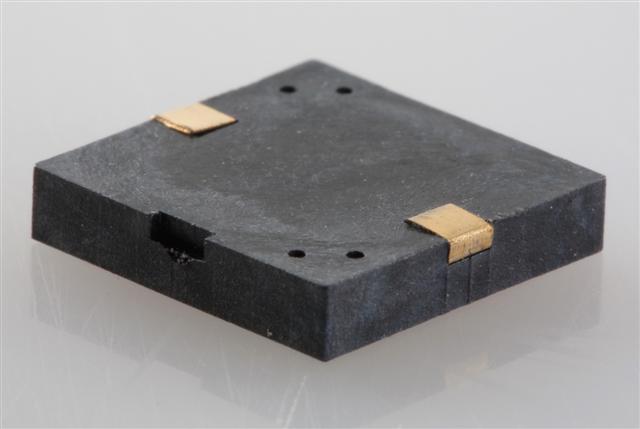13x13 SMT Piezo Buzzer, 5Vp-p, 4.1KHz, 75dB, 5mA, non-self drive
