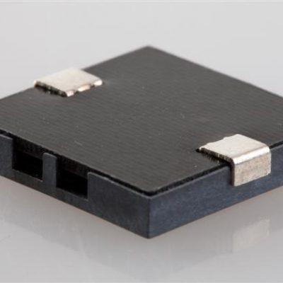 16x16 SMT Piezo Buzzer, 3Vp-p, 4 KHz, 75dB, 5mA, non-self drive